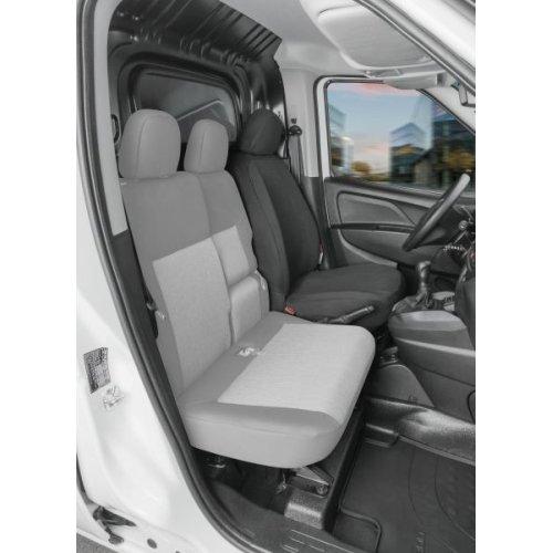 WALSER Sitzbezüge für Fiat Doblo 2 Einzelsitz vorne Fahrer Art.Nr.: 10549