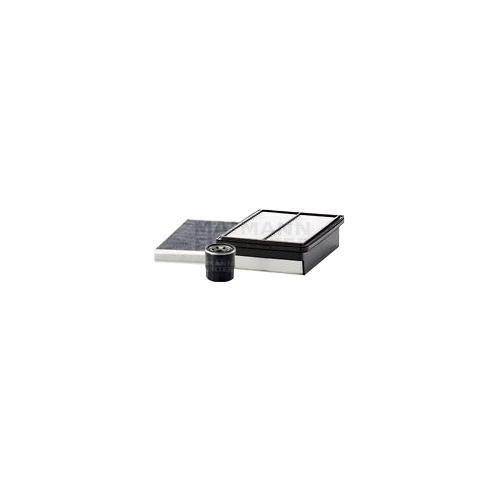 MANN-FILTER Filter Satz, Öl-,Luft und Innenraum Aktivkohle-Filter VSF0247MAN