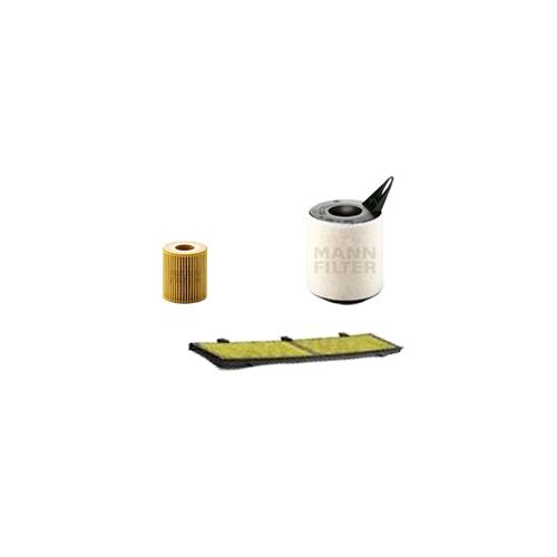 MANN-FILTER Filter Satz, Öl, Luft- und Innenraum-Filter Polyphenol VSF0018MAN