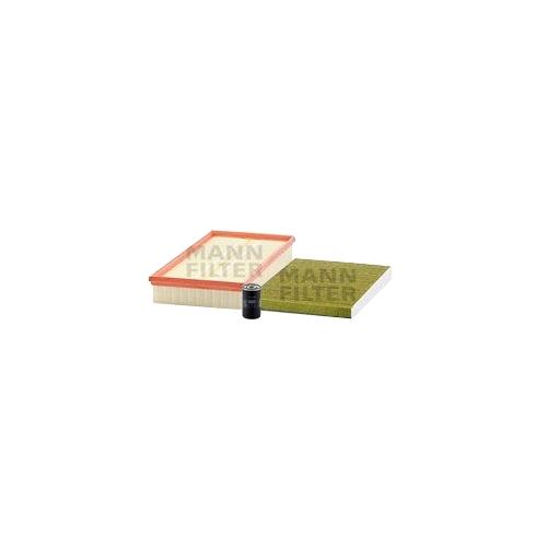 MANN-FILTER Ölfilter, Luftfilter und Polyphenol Innenraumluftfilter VSF0438MAN