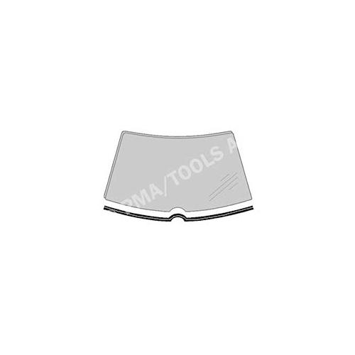 PMA TOOLS 316018131 Scheibenleiste vorne, einteilig unten für Mercedes Benz