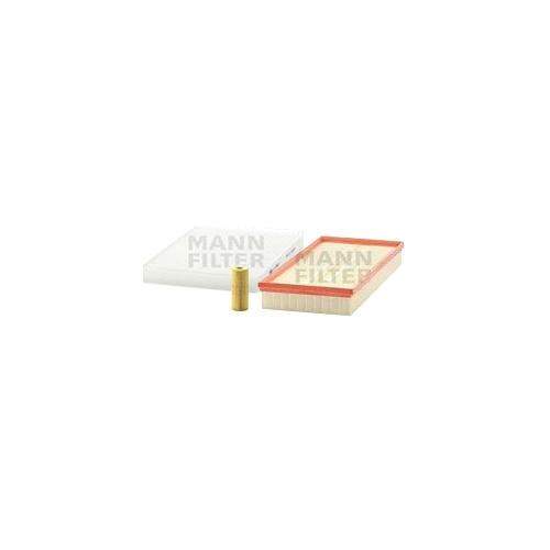MANN-FILTER Filter Satz Ölfilter, Luftfilter und Innenraumluftfilter VSF0327MAN