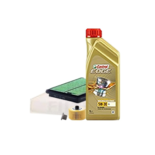 Inspektionskit Ölfilter, Luftfilter und Innenraumfilter + Motoröl 5W-30 LL 5L