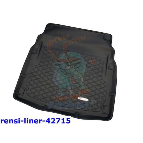 RENSI 42715 Kofferraumschalenmatte mit/ohne Seitenfächer Gewicht 2800 g
