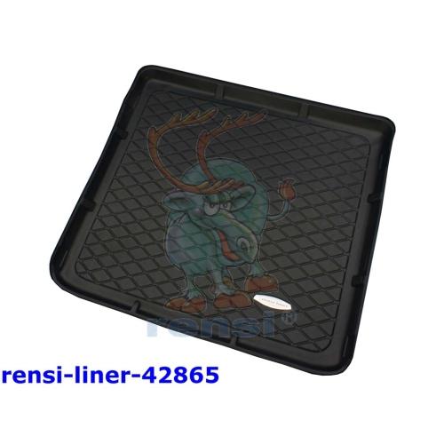 RENSI 42865 Kofferraumschalenmatte 5-Sitzer+7-Sitz. 3. Reihe flach Gewicht 2400g