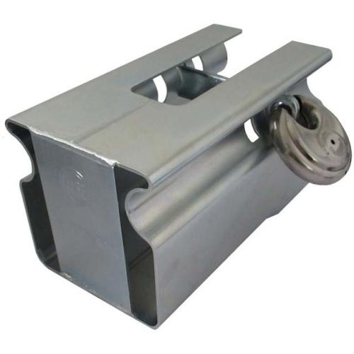 AIV 902350 Diebstahlschutz Kugelkupplung, Safety Box mit Diskus-Schloss