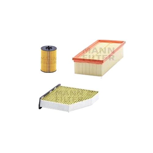 MANN-FILTER Filter Satz, Öl, Luft- und Innenraum-Filter Polyphenol VSF0006MAN