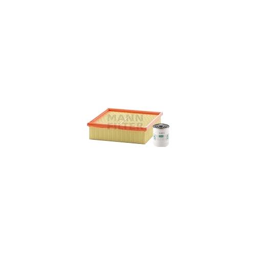 MANN-FILTER Filter Satz, Öl-,Luft und Innenraum Aktivkohle-Filter VSF0282MAN