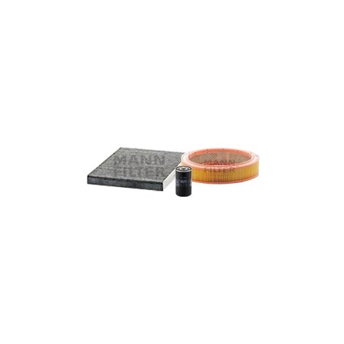 MANN-FILTER Ölfilter, Luftfilter und Aktivkohle Innenraumluftfilter VSF0387MAN
