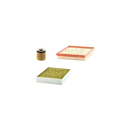 MANN-FILTER Filter Satz, Öl, Luft- und Innenraum-Filter Polyphenol VSF0021MAN