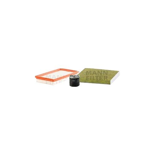 MANN-FILTER Filter Satz, Öl-,Luft und Innenraum-Filter Polyphenol VSF0175MAN