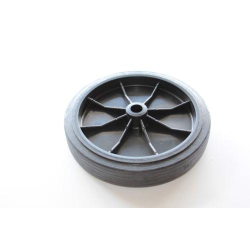 DOMETIC WAECO 4443900162 Hinterrad ASC/RHS, Ø 250 mm, schwarz, Hartgummi