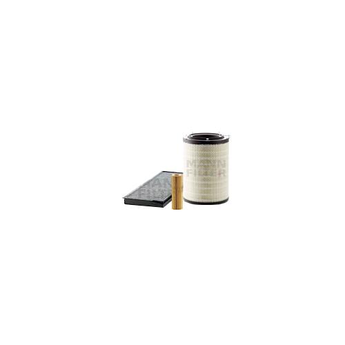 MANN-FILTER Filter Satz, Öl-,Luft und Innenraum Aktivkohle-Filter VSF0211MAN