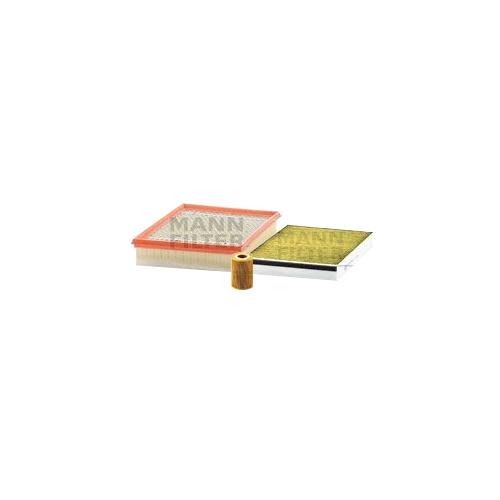 MANN-FILTER Ölfilter, Luftfilter und Polyphenol Innenraumluftfilter VSF0356MAN