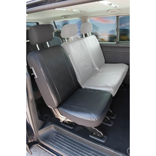 Seat covers for VW T6 single seat rear