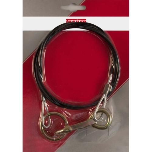FRIELITZ 009000650-VP Breakaway rope with ring 1000 mm, black, packed
