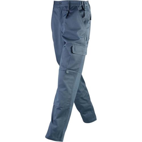 JAMES & NICHOLSON JN814 men's work trousers, carbon, size S