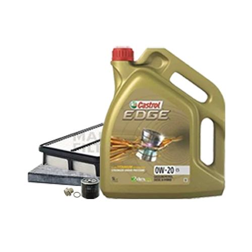Inspektionskit Ölfilter, Luftfilter und Innenraumfilter + Motoröl 0W-20 5L