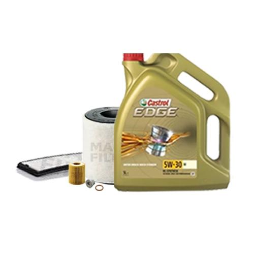 Inspektionskit Ölfilter, Luftfilter und Innenraumfilter + Motoröl 5W-30 M 5L