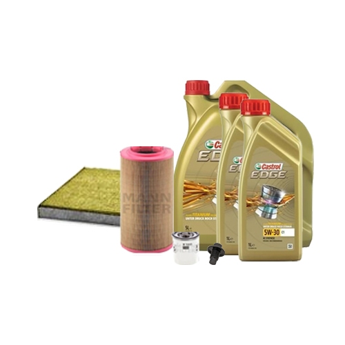 Inspektionskit Ölfilter, Luftfilter und Innenraumfilter + Motoröl 5W-30 C1 7L