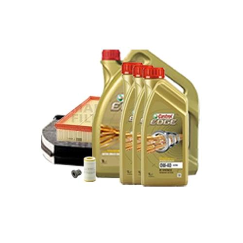 Inspektionskit Ölfilter, Luftfilter und Innenraumfilter + Motoröl 0W-40 8L