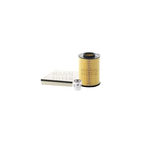MANN-FILTER Filter Satz Ölfilter, Luftfilter und Innenraumluftfilter VSF0357MAN