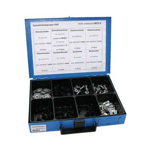 Sortiment Spezialbefestigungen für VAG 4499/000/06 8673 x 3 8-teilig 1 Stück