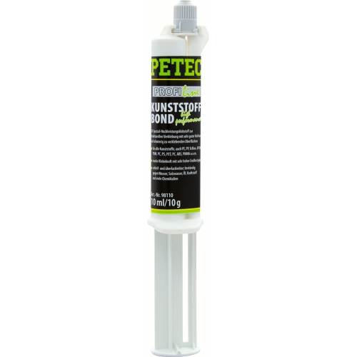 2K special high-performance adhesive plastic Bond Petec 98110 10 ml