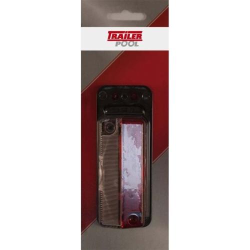 FRIELITZ 014000350-VP Begrenzungsleuchte rot/weiß mit Gummipendel