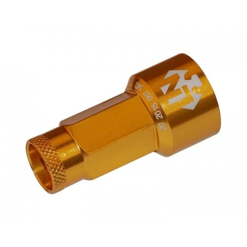 Foliatec LUGNUZZCOVER SET 37223 gold, 19 mm