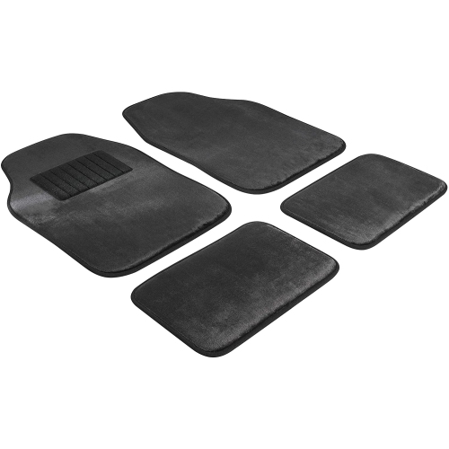 WALSER Autoteppich Comfort Drive Prem. 12mm Velours 4tlg. Schwarz Art.Nr.: 29044