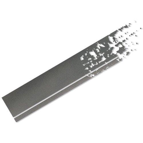 Foliatec CAR DESIGN STICKER STRIPES 33912 graphite matt