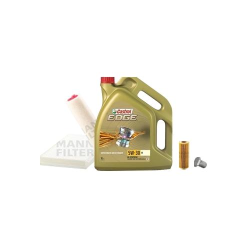 Inspektionskit Ölfilter, Luftfilter und Innenraumfilter + Motoröl 5l 5W-30 M
