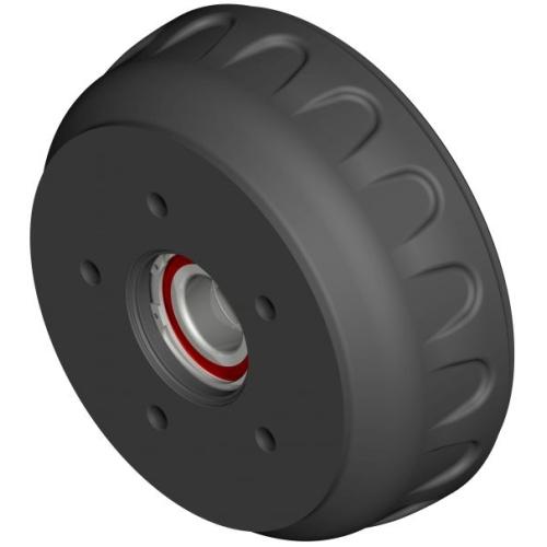 KNOTT 401463C002 brake hub 200, 112 x 5 / M12 x 1.5