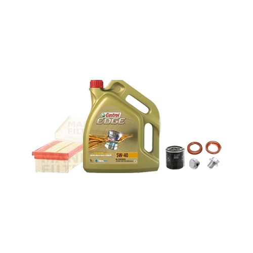 Inspektionskit Ölfilter, Luftfilter und Innenraumfilter + Motoröl 5l 5W-40