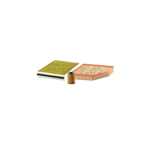 MANN-FILTER Filter Satz, Öl-,Luft und Innenraum-Filter Polyphenol VSF0245MAN