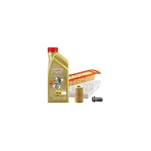 Inspektionskit Ölfilter, Luftfilter und Innenraumfilter + Motoröl 10l 5W-30 LL