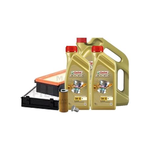 Inspektionskit Ölfilter, Luftfilter und Innenraumfilter + Mötoröl 5W-30 M 7L