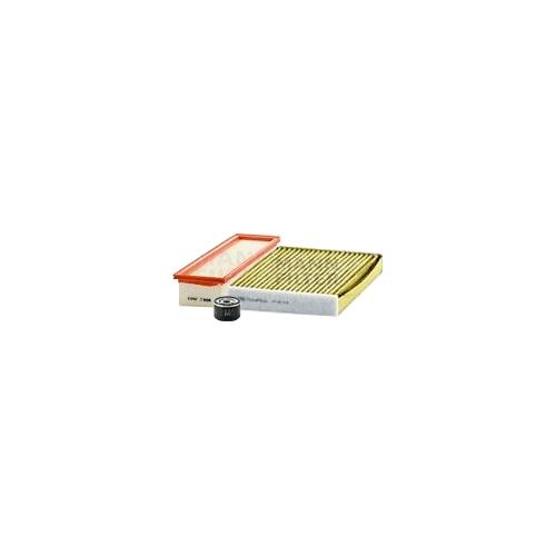 MANN-FILTER Ölfilter, Luftfilter und Polyphenol Innenraumluftfilter VSF0446MAN
