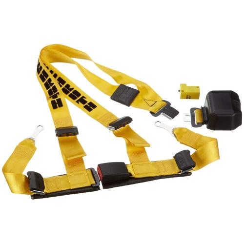 Schroth Safety Automatik Gurt ASM Autocontrol II gelb-schwarz rechts 11512