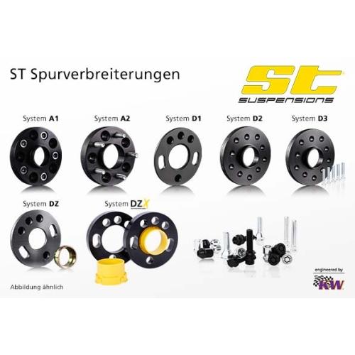 ST 56055039 DZX Spurverbreiterungen 10mm pro Achse DMR 168mm, 2 Stück