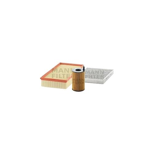 MANN-FILTER Filter Satz, Öl-,Luft und Innenraum Aktivkohle-Filter VSF0092MAN
