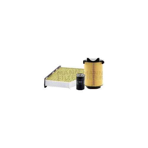 MANN-FILTER Filter Satz, Öl-,Luft und Innenraum-Filter Polyphenol VSF0158MAN