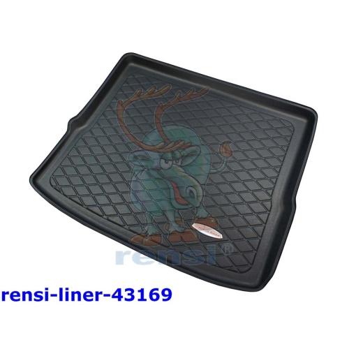 RENSI 43169 Kofferraumschalenmatte o. Sitzverst. Fond Kofferraumboden oben 1800g