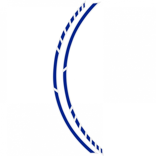 Foliatec PIN STRIPING RACING 34443 blau