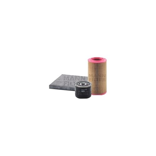 MANN-FILTER Filter Satz, Öl-,Luft und Innenraum Aktivkohle-Filter VSF0104MAN