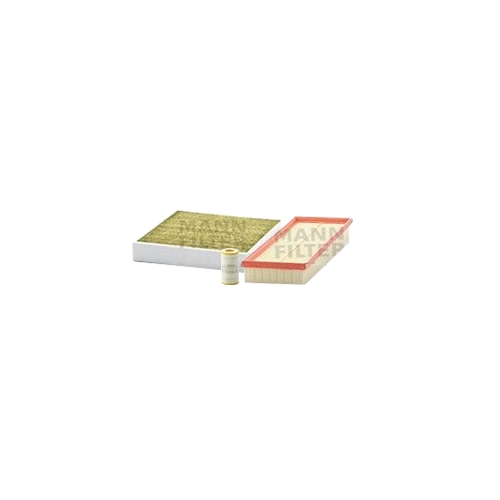 MANN-FILTER Ölfilter, Luftfilter und Polyphenol Innenraumluftfilter VSF0326MAN
