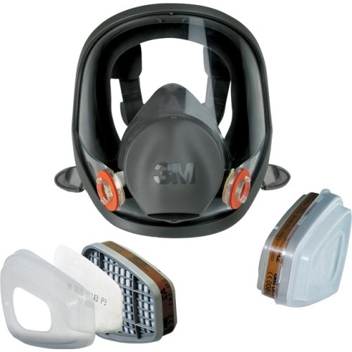 3M 50648 full face mask starter set, respirator, size M