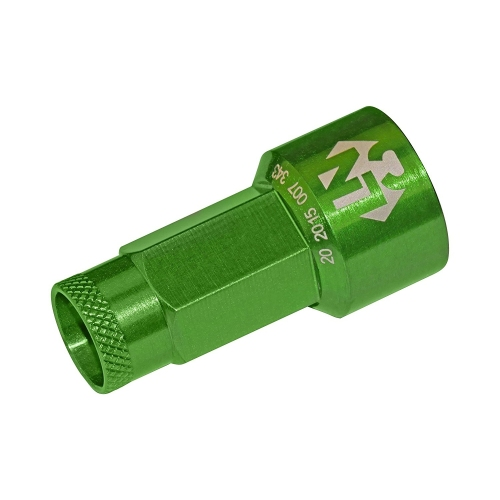 Foliatec LUGNUZZCOVER SET 37200 green, 17 mm
