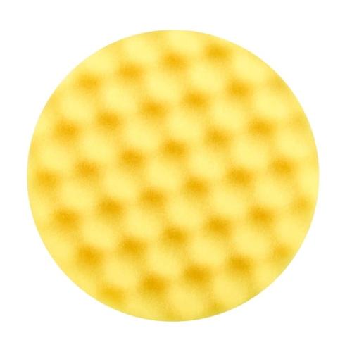 3M 50488 Perfect-It III Polierschaum, genoppt, gelb, Ø 150 mm, 1 Stück